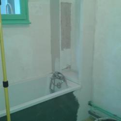 Salle de bains 5 Pendant Travaux