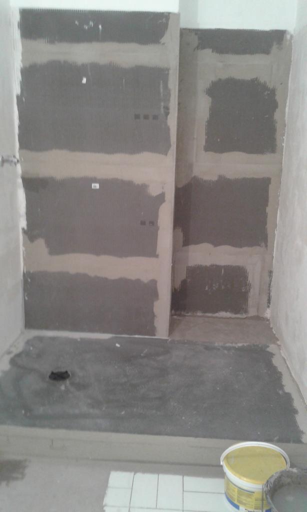 Salle de bains 13 Pendant Travaux