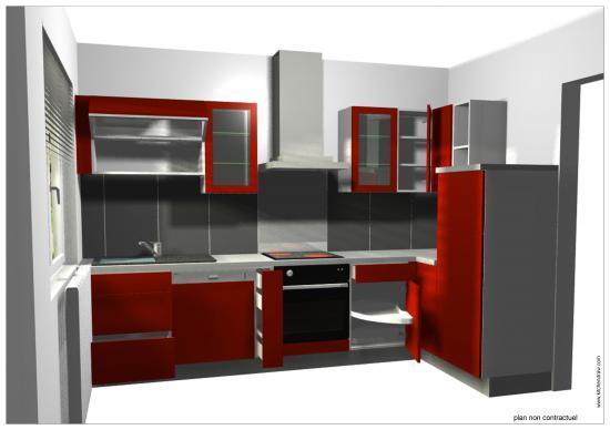 Vente et pose de cuisine sur laneuveville devant nancy for Simulation cuisine 3d en ligne
