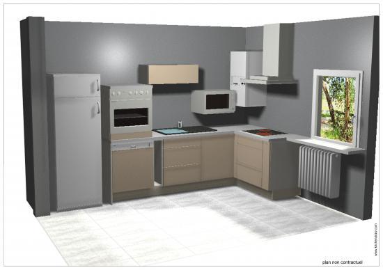 Vente et pose de cuisine sur laneuveville devant nancy - Simulateur cuisine 3d ...