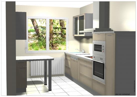 Simulation cuisine 3d for Projet cuisine 3d gratuit