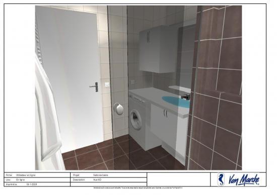 Plan en 3d salle de bains for Simulation salle de bain 3d