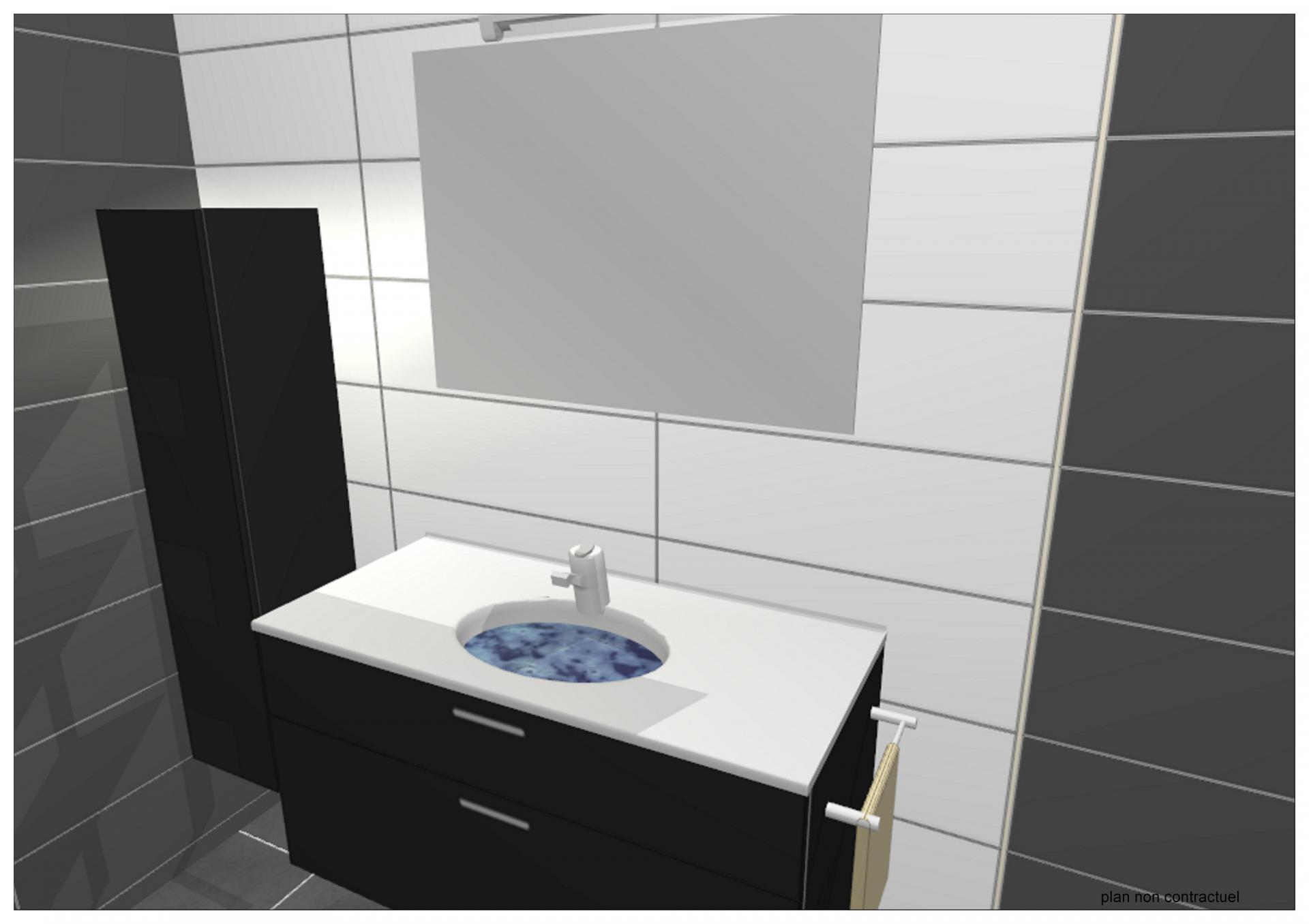 Etudes et plans cuisine salle de bains Simulation salle de bain 3d gratuit
